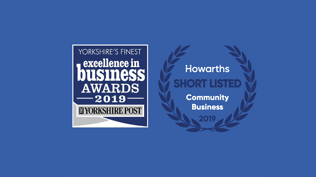 Howarth's Shortlisted for the Community Award at the Yorkshire Post Business Awards