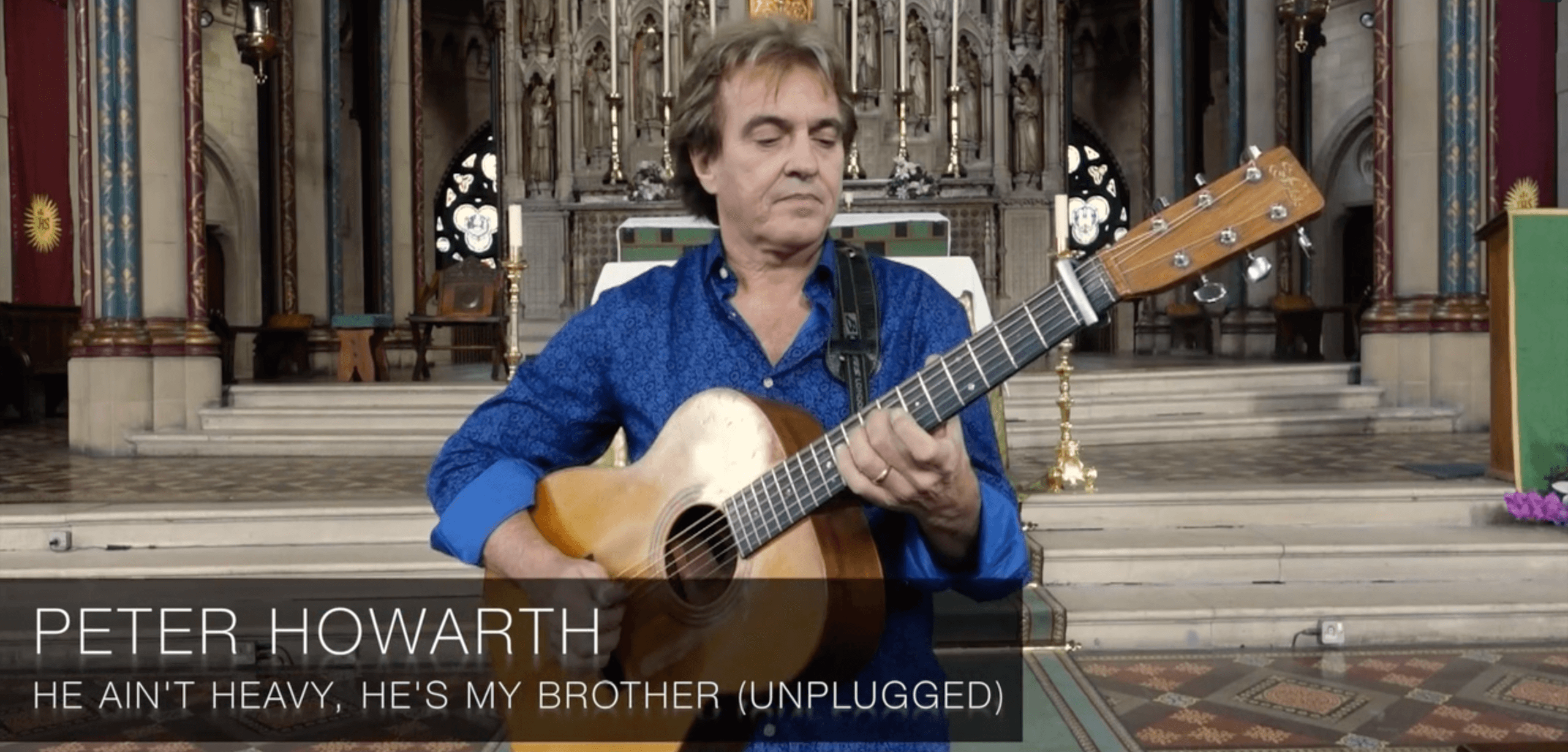 Peter Howarth – He Ain't Heavy, He's My Brother (Unplugged)