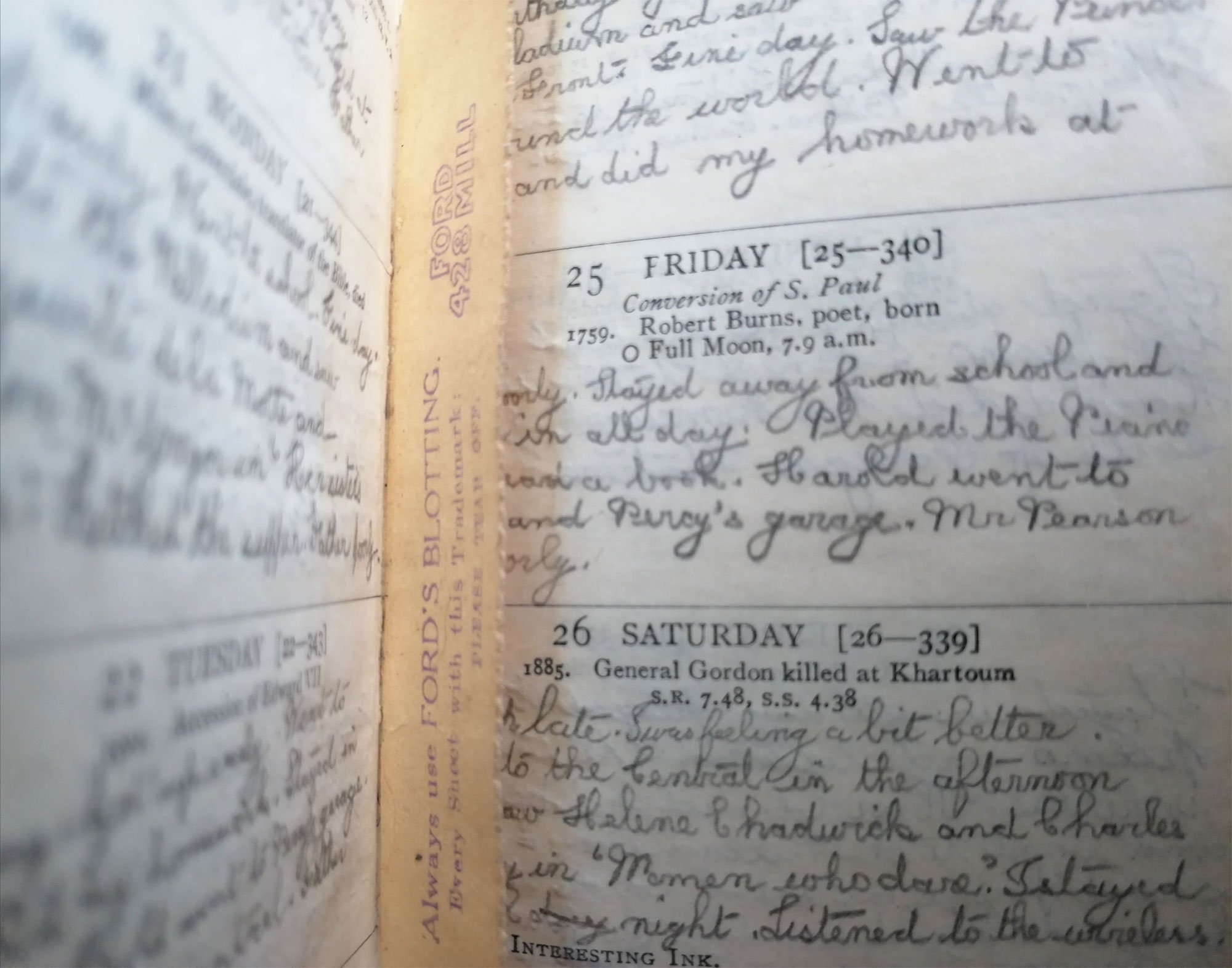 Hidden Owls Diary